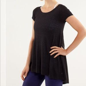 Lululemon Be Me Tee Cashmere Blend Top XS